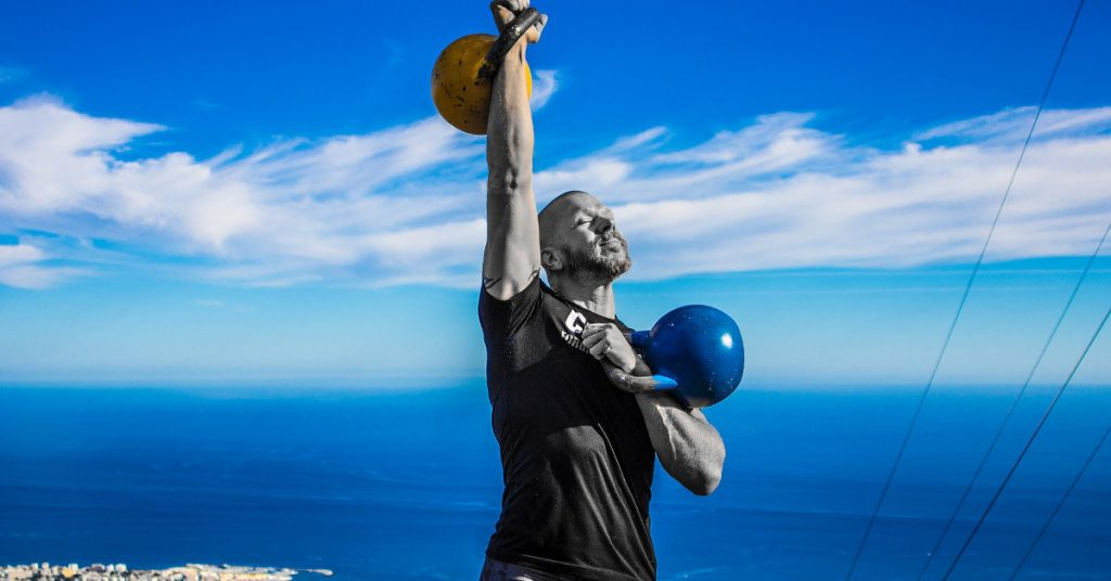 kettlebell beneficios pes rus girya crosfit training
