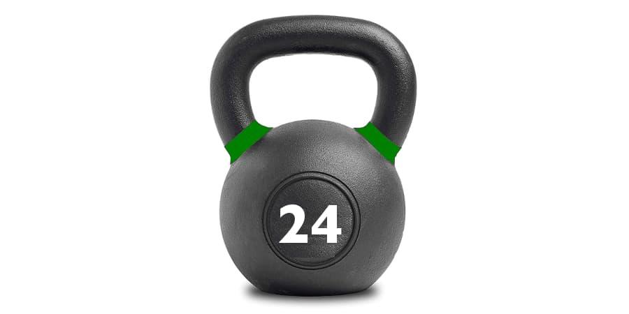 kettlebell kettlebells pesas rusas 24 kg