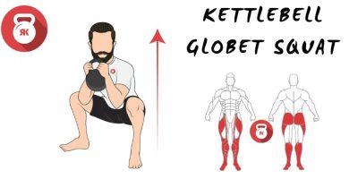 kettlebells pesas rusas sentadillas globet squat