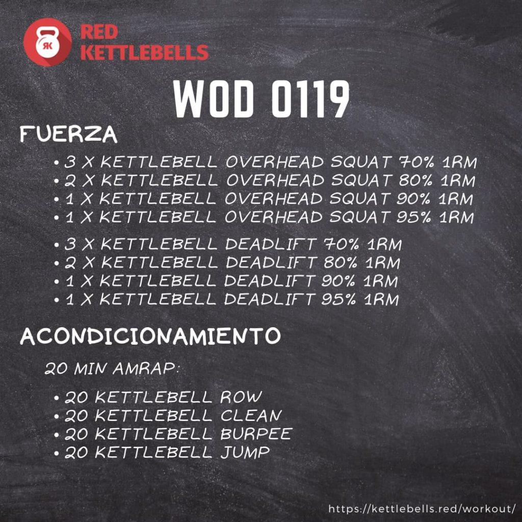 pesas rusas rutinas kettlebells workout crossfit wod 0119