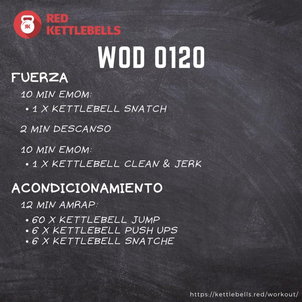 pesas rusas rutinas kettlebells workout crossfit wod 0120