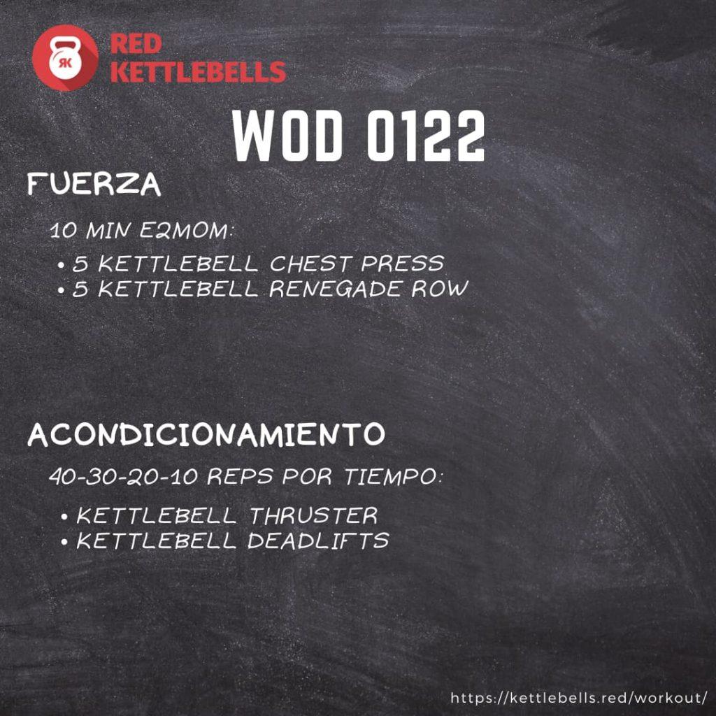 pesas rusas rutinas kettlebells workout crossfit wod 0122