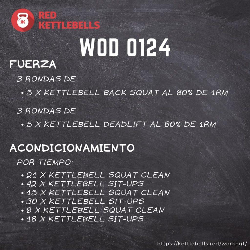 pesas rusas rutinas kettlebells workout crossfit wod 0124