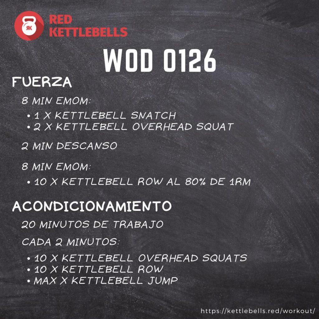 pesas rusas rutinas kettlebells workout crossfit wod 0126