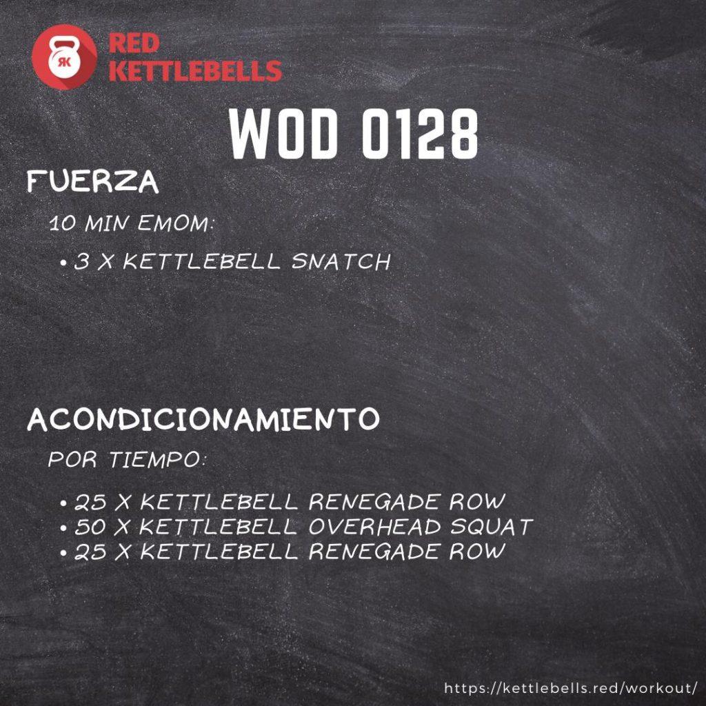 pesas rusas rutinas kettlebells workout crossfit wod 0128