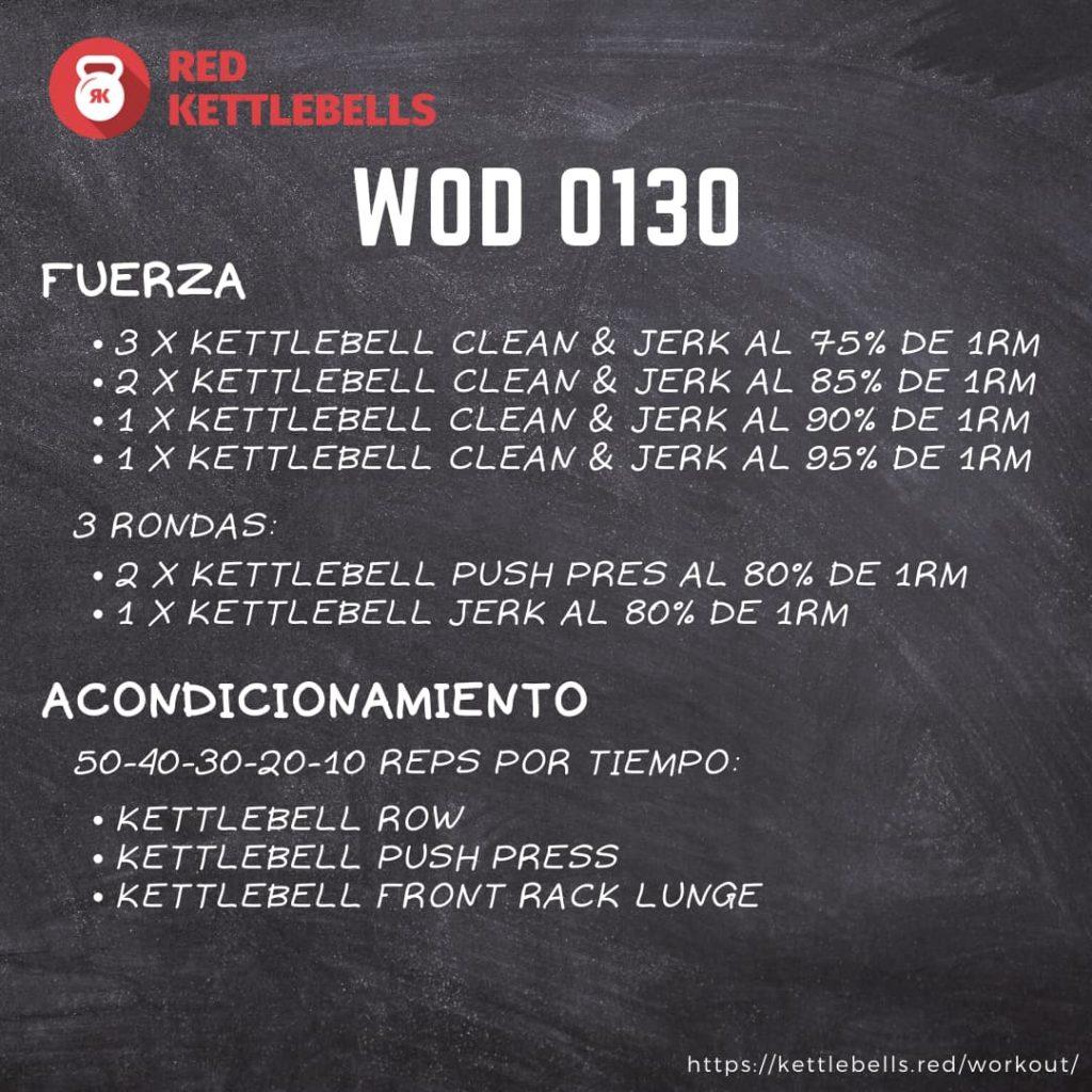 pesas rusas rutinas kettlebells workout crossfit wod 0130
