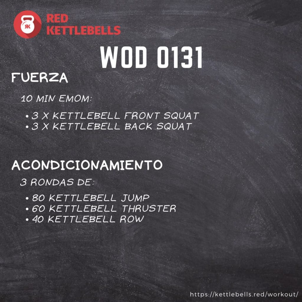 pesas rusas rutinas kettlebells workout crossfit wod 0131