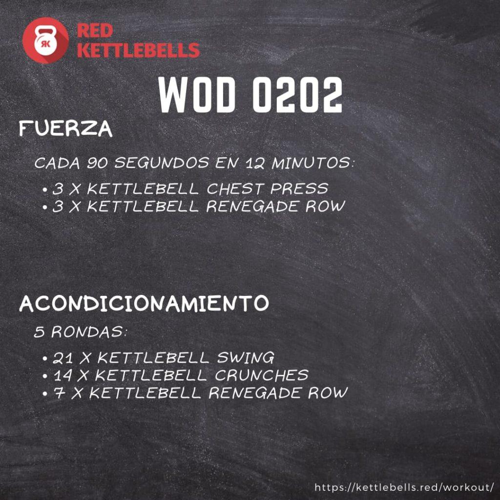 pesas rusas rutinas kettlebells workout crossfit wod 0202