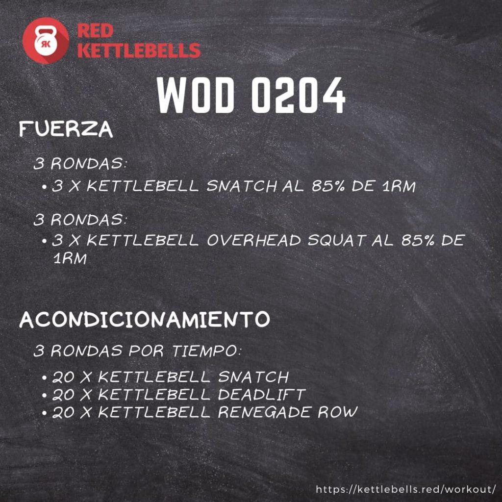 pesas rusas rutinas kettlebells workout crossfit wod 0204