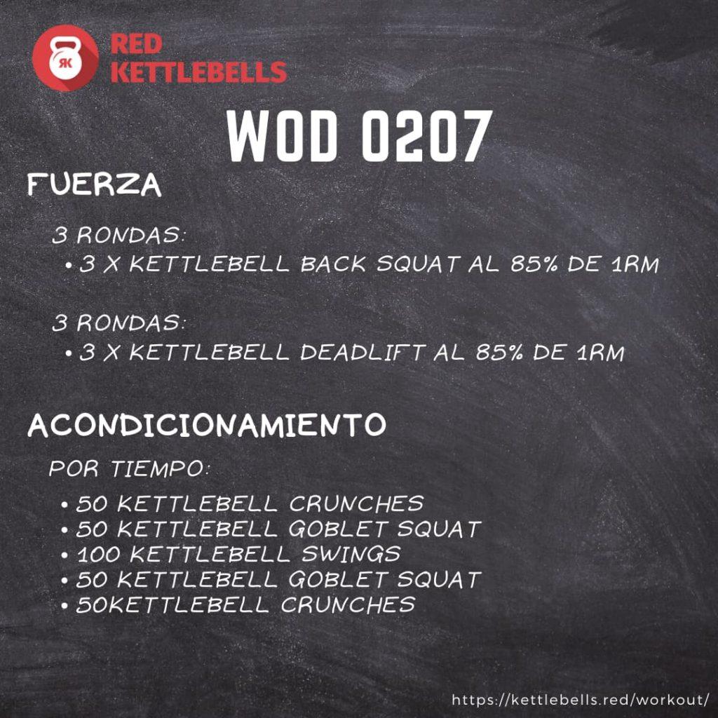 pesas rusas rutinas kettlebells workout crossfit wod 0207