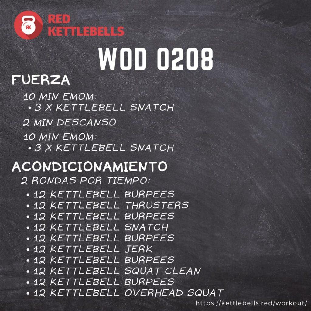 pesas rusas rutinas kettlebells workout crossfit wod 0208