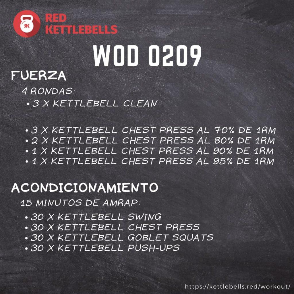 pesas rusas rutinas kettlebells workout crossfit wod 0209