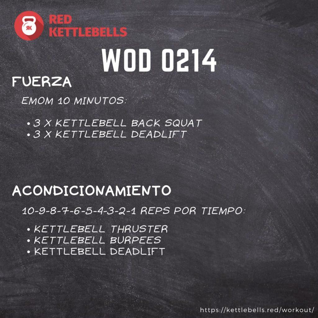 pesas rusas rutinas kettlebells workout crossfit wod 0214