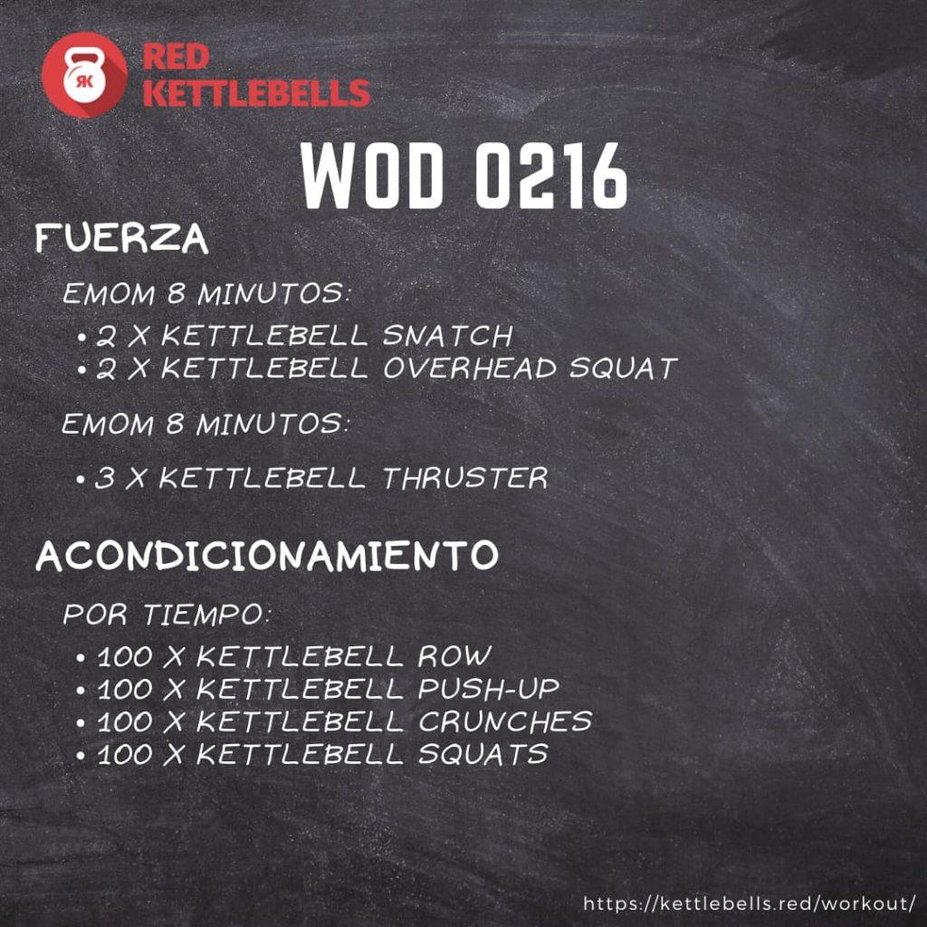 pesas rusas rutinas kettlebells workout crossfit wod 0216