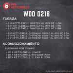 pesas rusas rutinas kettlebells workout crossfit wod 0218