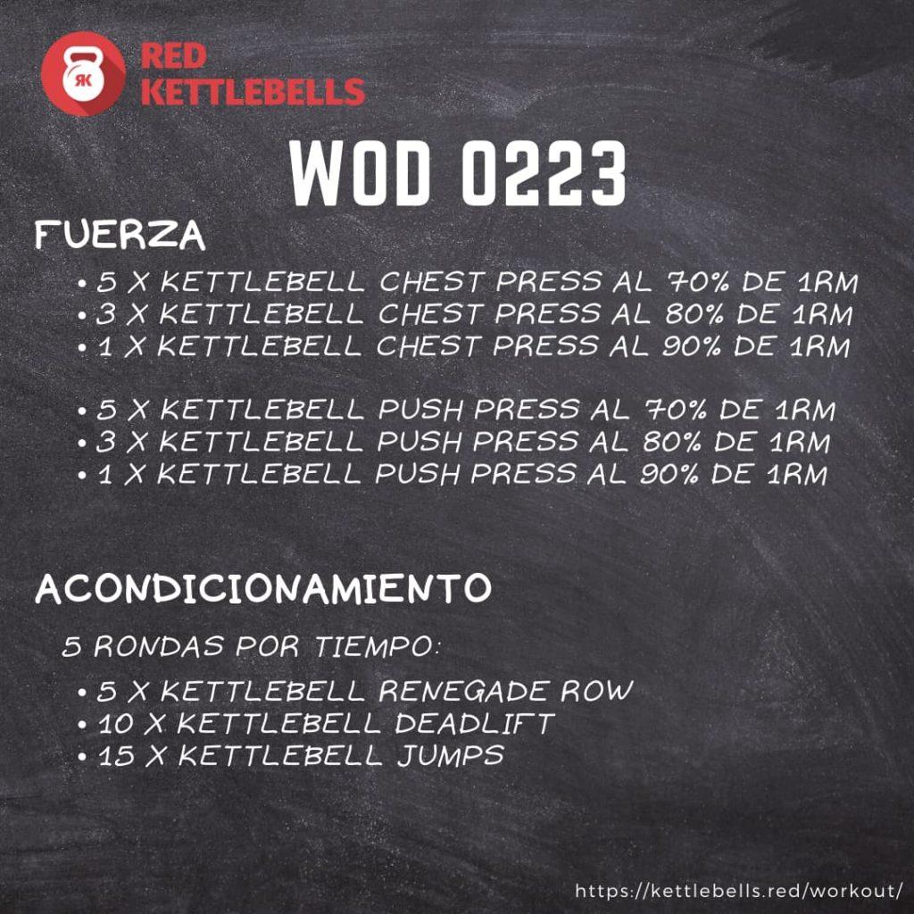 pesas rusas rutinas kettlebells workout crossfit wod 0223