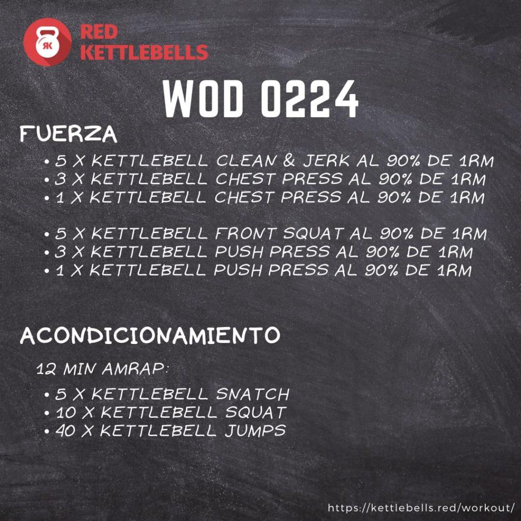 pesas rusas rutinas kettlebells workout crossfit wod 0224