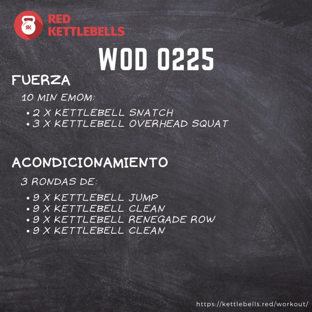 pesas rusas rutinas kettlebells workout crossfit wod 0225