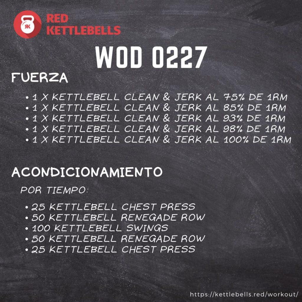 pesas rusas rutinas kettlebells workout crossfit wod 0227