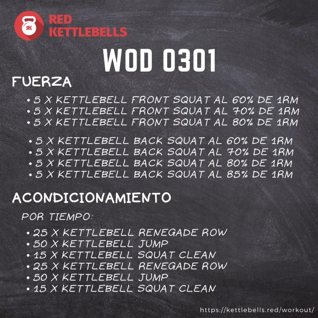 pesas rusas rutinas kettlebells workout crossfit wod 0301