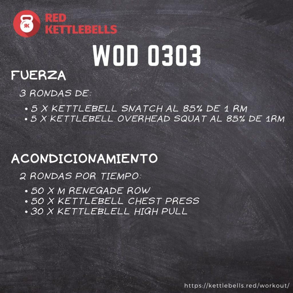pesas rusas rutinas kettlebells workout crossfit wod 0303