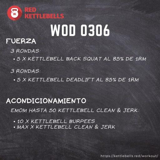 pesas rusas rutinas kettlebells workout crossfit wod 0306