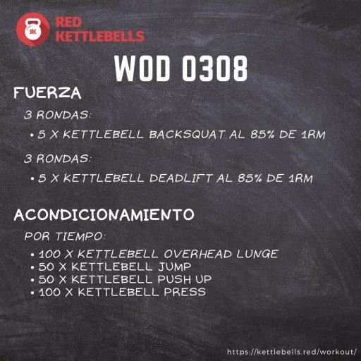pesas rusas rutinas kettlebells workout crossfit wod 0308