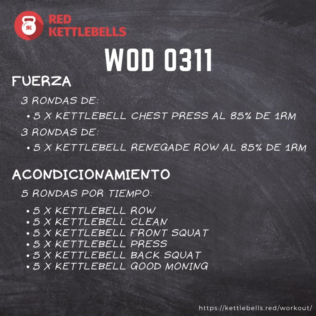 pesas rusas rutinas kettlebells workout crossfit wod 0311