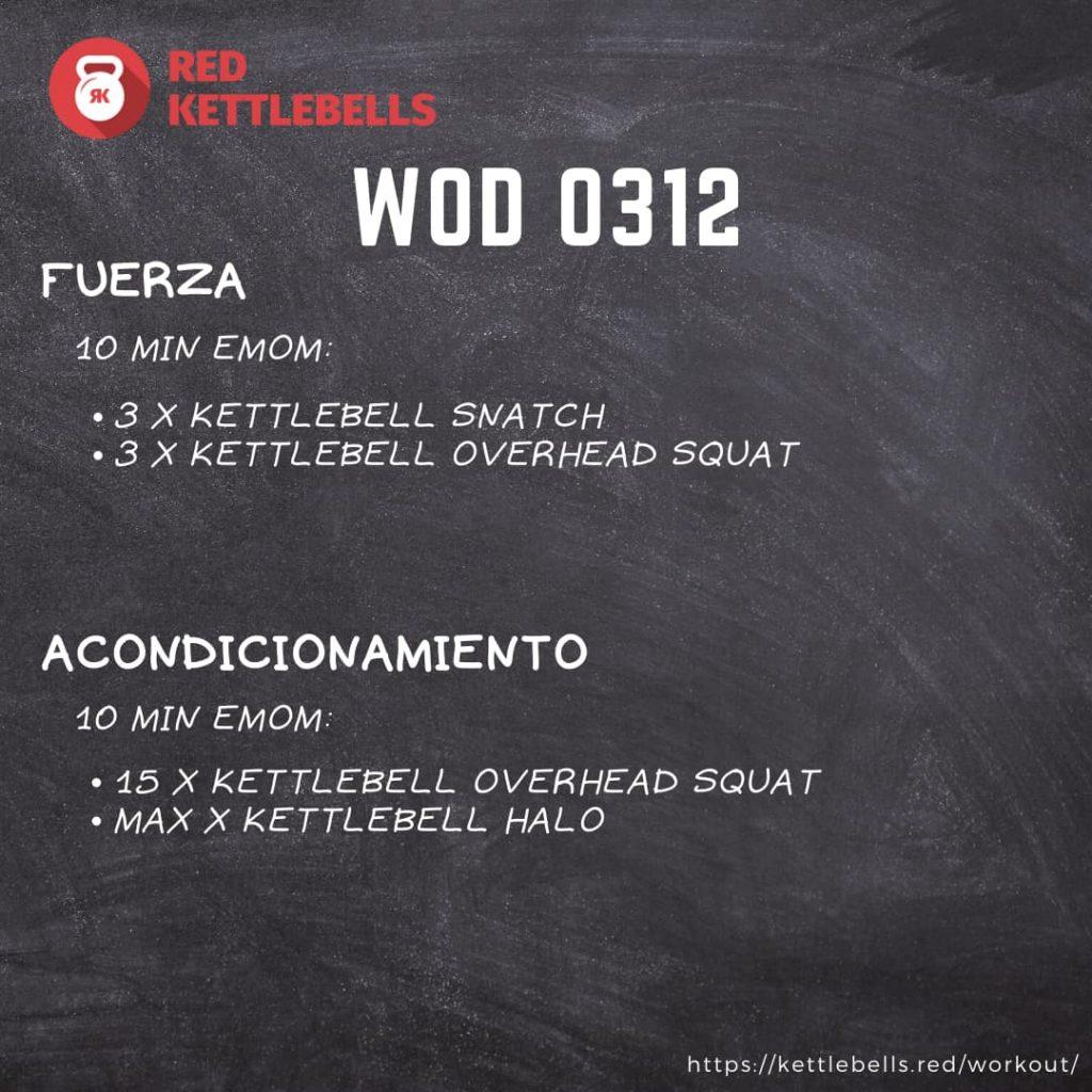 pesas rusas rutinas kettlebells workout crossfit wod 0312