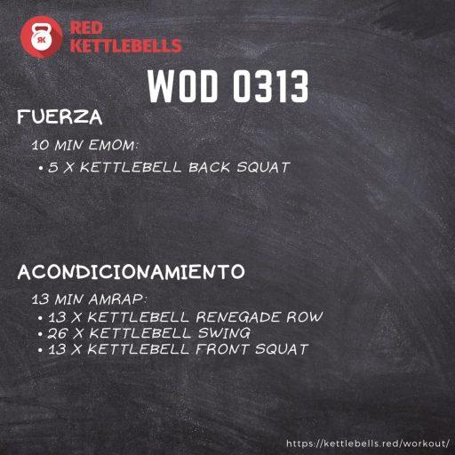 pesas rusas rutinas kettlebells workout crossfit wod 0313