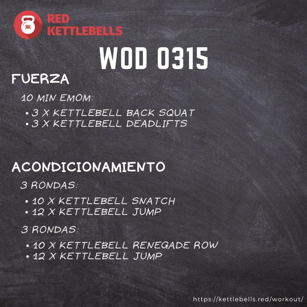 pesas rusas rutinas kettlebells workout crossfit wod 0315