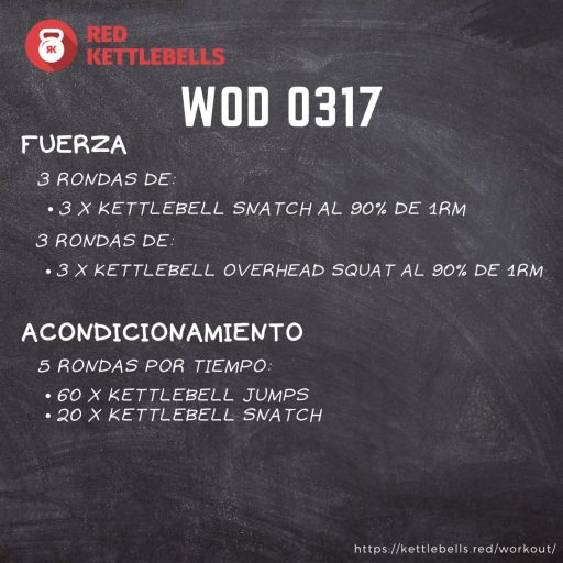 pesas rusas rutinas kettlebells workout crossfit wod 0317