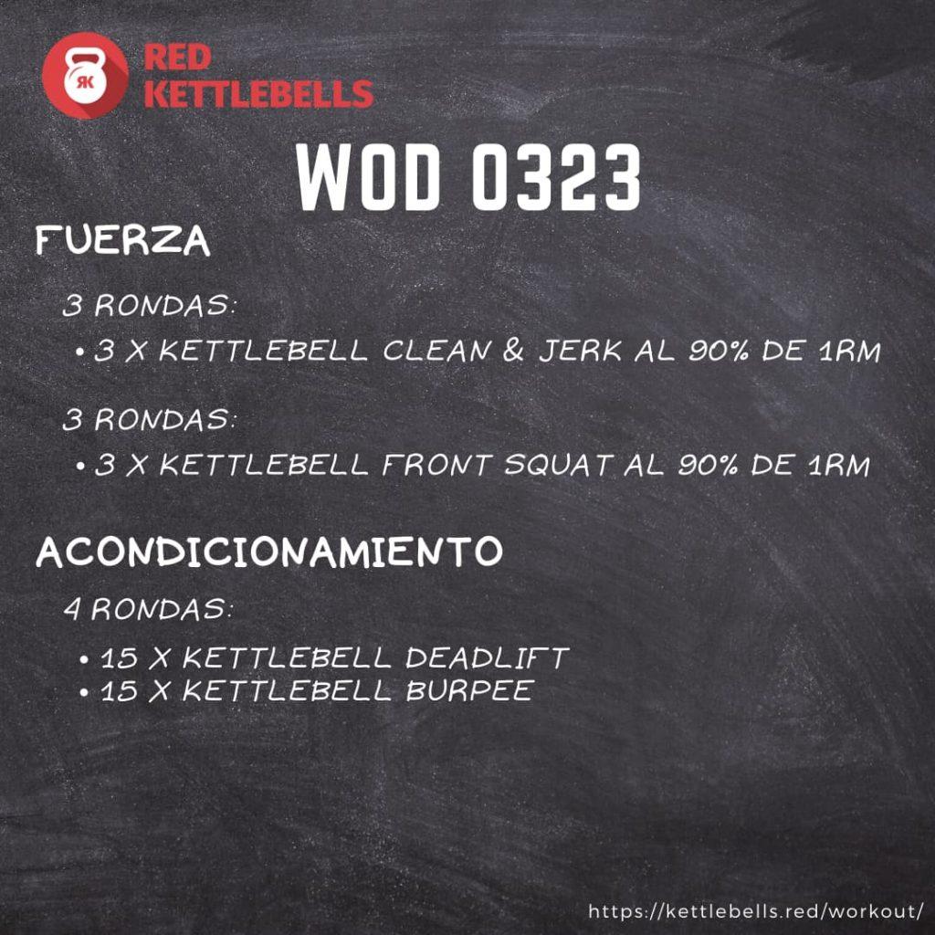 pesas rusas rutinas kettlebells workout crossfit wod 0323