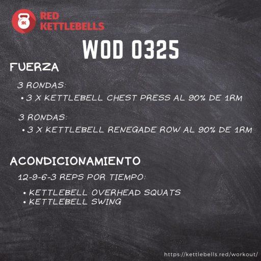 pesas rusas rutinas kettlebells workout crossfit wod 0325