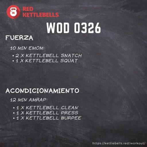pesas rusas rutinas kettlebells workout crossfit wod 0326