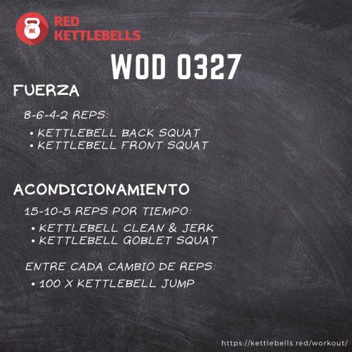 pesas rusas rutinas kettlebells workout crossfit wod 0327