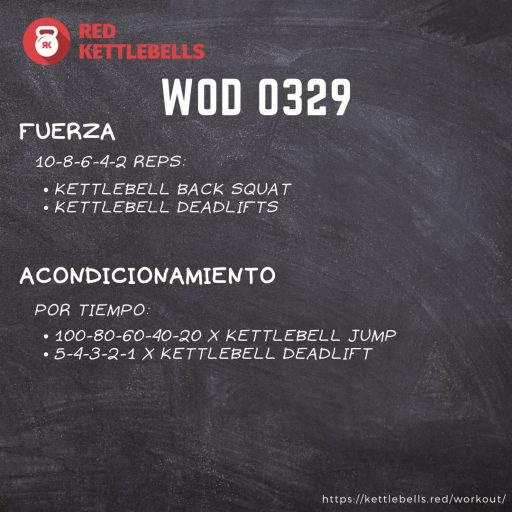pesas rusas rutinas kettlebells workout crossfit wod 0329