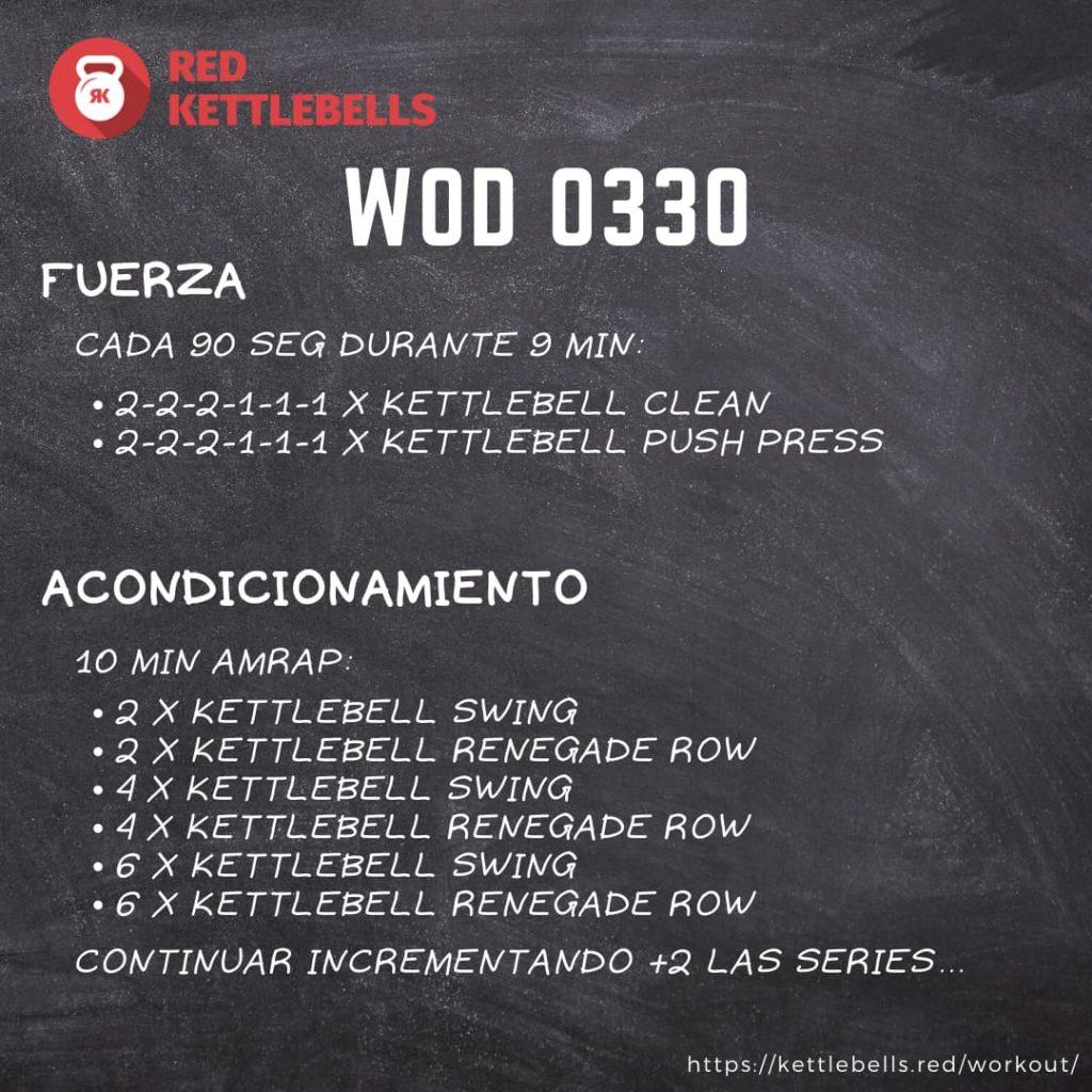 pesas rusas rutinas kettlebells workout crossfit wod 0330