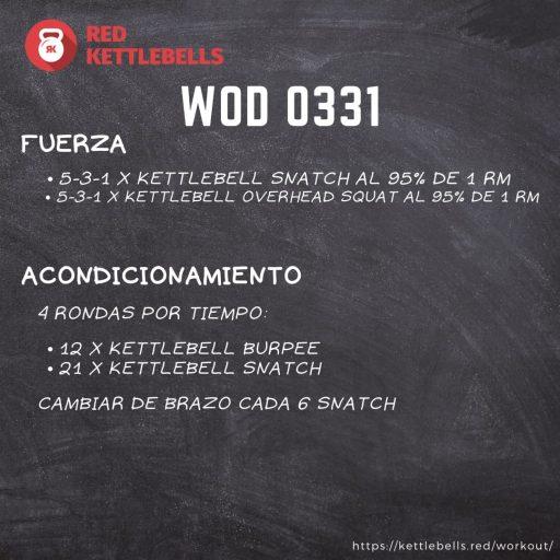 pesas rusas rutinas kettlebells workout crossfit wod 0331