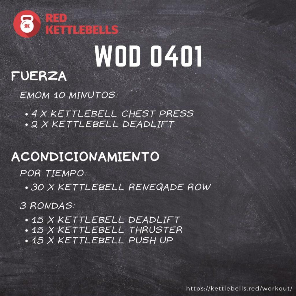 pesas rusas rutinas kettlebells workout crossfit wod 0401