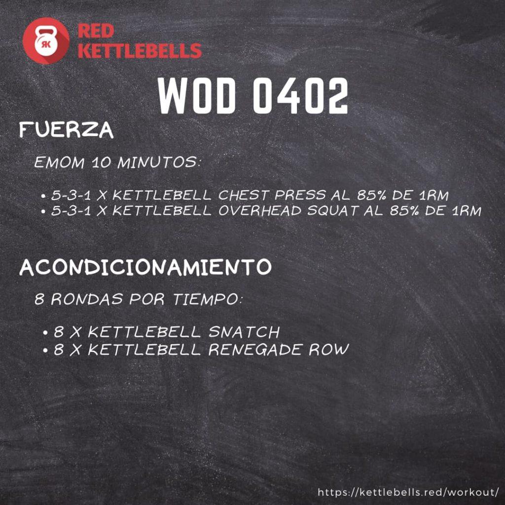 pesas rusas rutinas kettlebells workout crossfit wod 0402