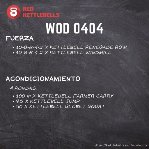 pesas rusas rutinas kettlebells workout crossfit wod 0404