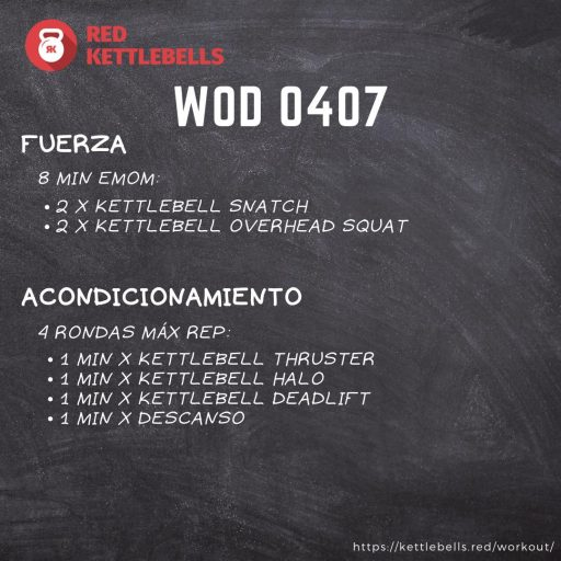 pesas rusas rutinas kettlebells workout crossfit wod 0407