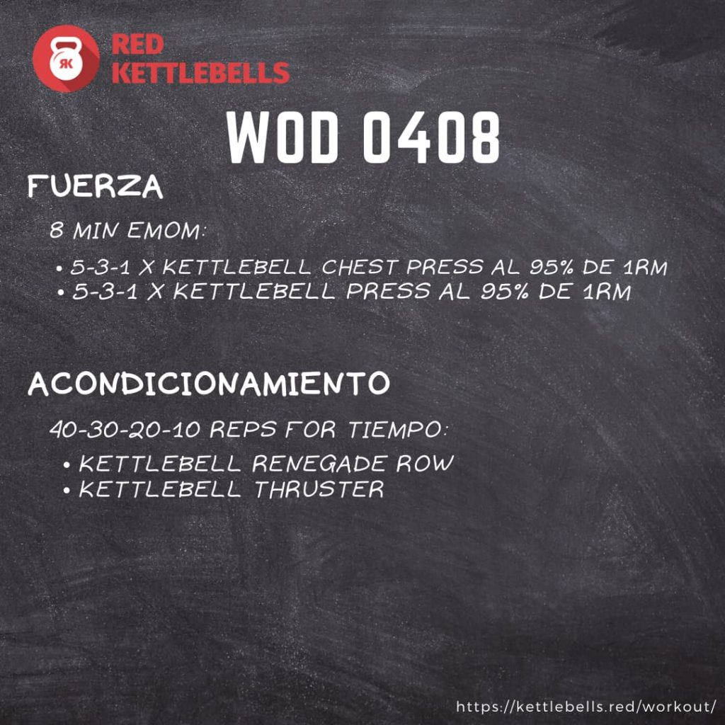 pesas rusas rutinas kettlebells workout crossfit wod 0408