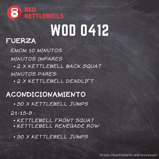 pesas rusas rutinas kettlebells workout crossfit wod 0412
