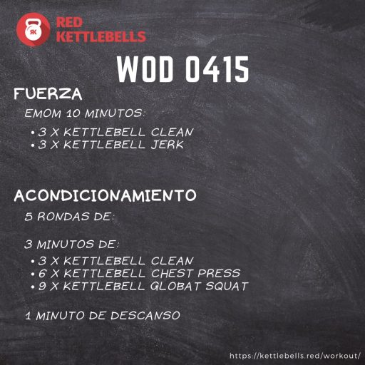 pesas rusas rutinas kettlebells workout crossfit wod 0415