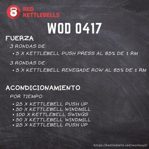 pesas rusas rutinas kettlebells workout crossfit wod 0417