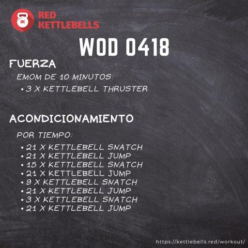 pesas rusas rutinas kettlebells workout crossfit wod 0418