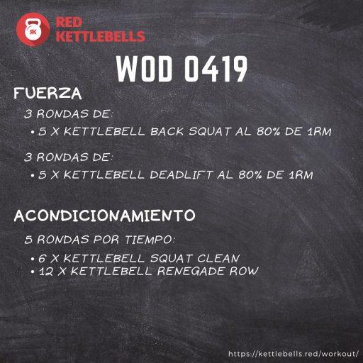 pesas rusas rutinas kettlebells workout crossfit wod 0419