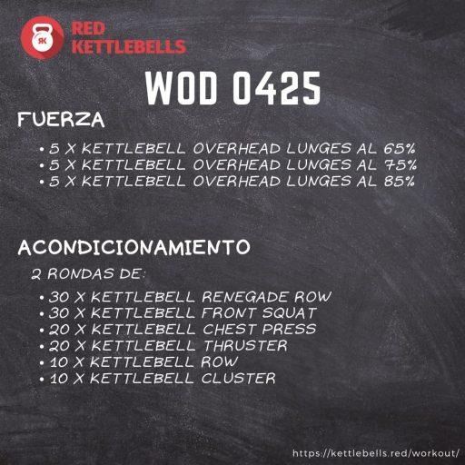 pesas rusas rutinas kettlebells workout crossfit wod 0425